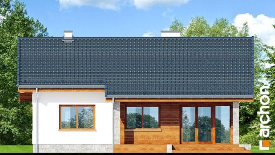 Elewacja ogrodowa projekt dom pod lipka  267