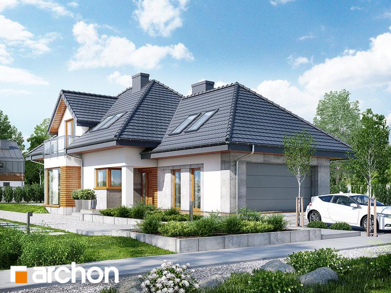 gotowy projekt Dom w rukoli 3 (N) widok 1