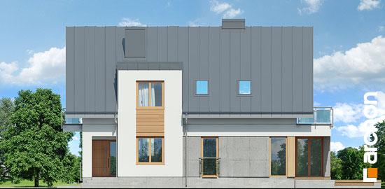 Elewacja boczna projekt dom w czermieni 3 p  265