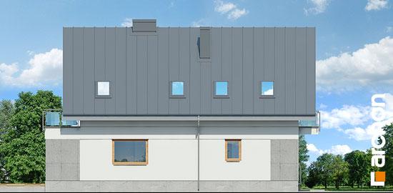 Elewacja boczna projekt dom w czermieni 3 p  266