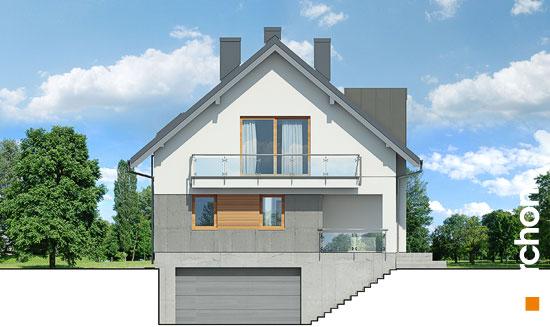 Elewacja frontowa projekt dom w czermieni 3 p  264