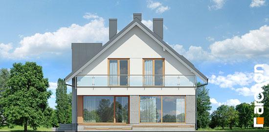 Elewacja ogrodowa projekt dom w czermieni 3 p  267