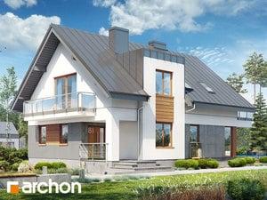projekt Dom w czermieni 3 (P) widok 2