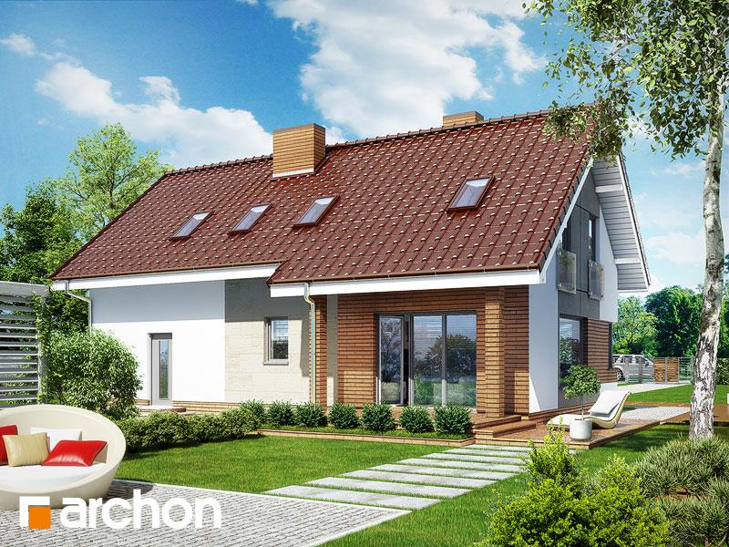 gotowy projekt Dom w żurawkach (G2) widok 1
