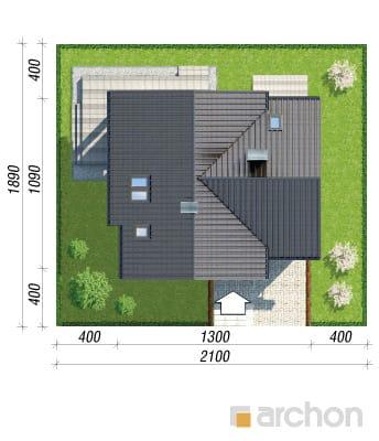 projekt Dom w miłowonkach sytuacja