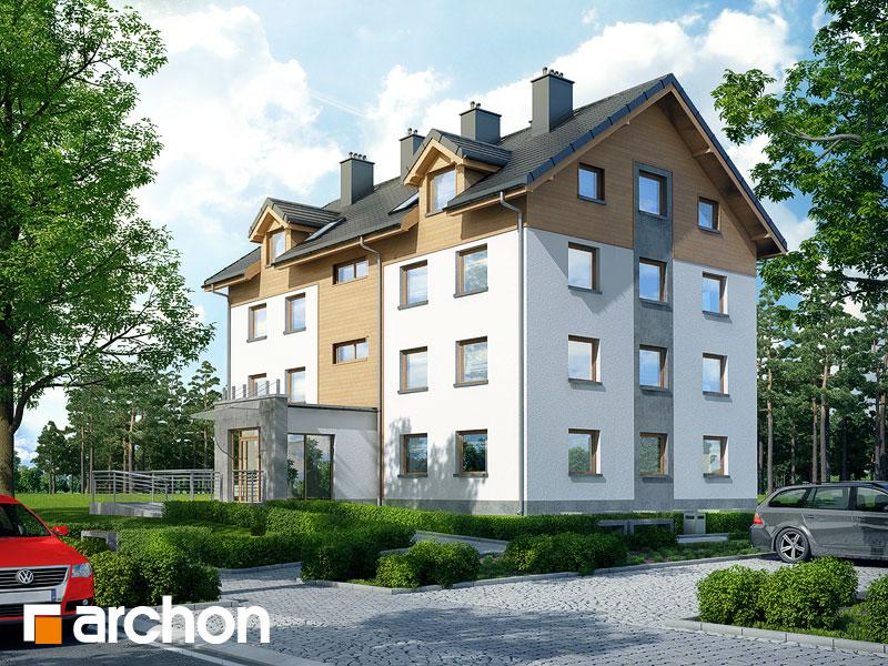 gotowy projekt Dom nad bulwarem 15 (A) widok 1