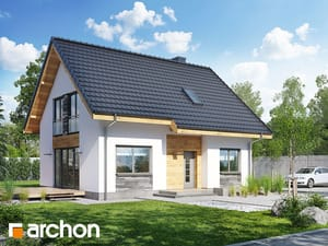 gotowy projekt Dom w zielistkach 3