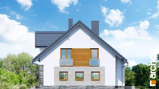 Elewacja boczna projekt dom w janowcach  265