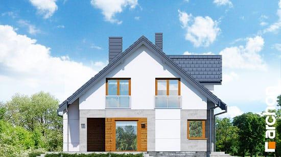 Elewacja boczna projekt dom w janowcach  266