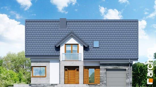 Elewacja frontowa projekt dom w janowcach  264