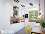 projekt Dom w janowcach Wizualizacja kuchni 1 widok 1