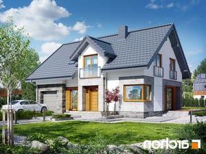 projekt Dom w janowcach lustrzane odbicie 1