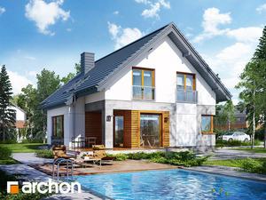 projekt Dom w janowcach widok 2