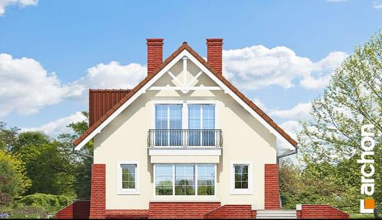 Elewacja boczna projekt dom w koniczynce 2 ver 2  265