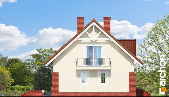 Elewacja boczna projekt dom w koniczynce 2 ver 2  266