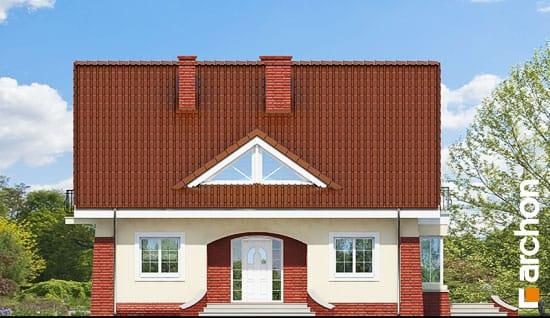 Elewacja frontowa projekt dom w koniczynce 2 ver 2  264