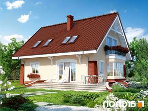 projekt Dom w koniczynce 2 lustrzane odbicie 2