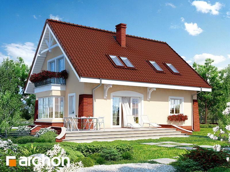 gotowy projekt Dom w koniczynce 2 widok 1