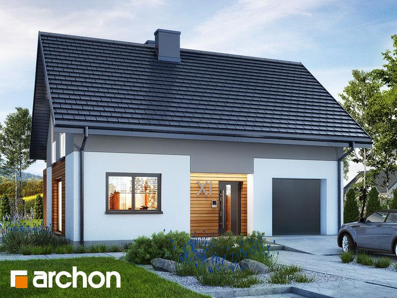 gotowy projekt Dom w lucernie 10 widok 1