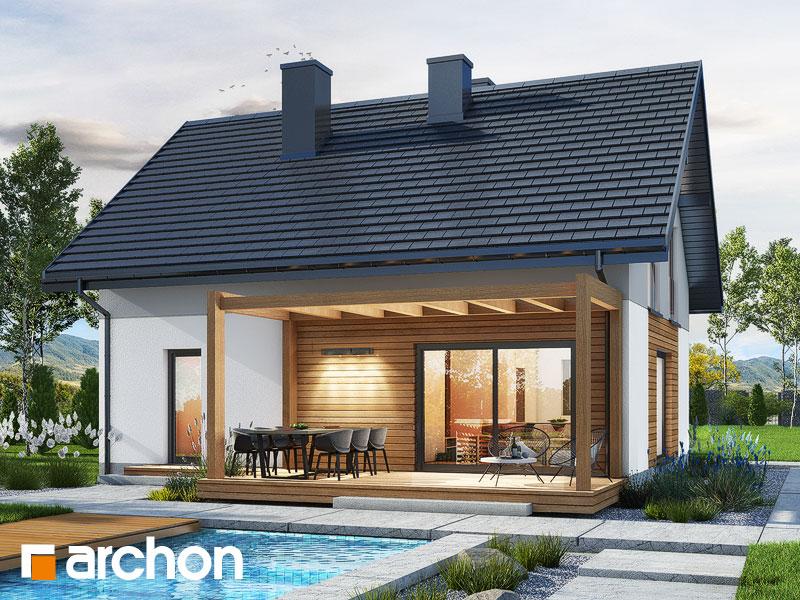 gotowy projekt Dom w lucernie 10 widok 2
