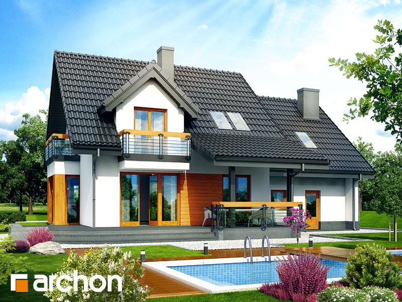 gotowy projekt Dom w tamaryszkach 4 (G2N) widok 1