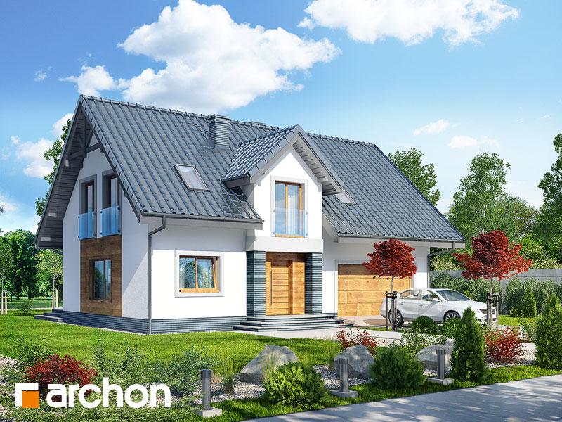 projekt Dom w lucernie (G2) widok 1
