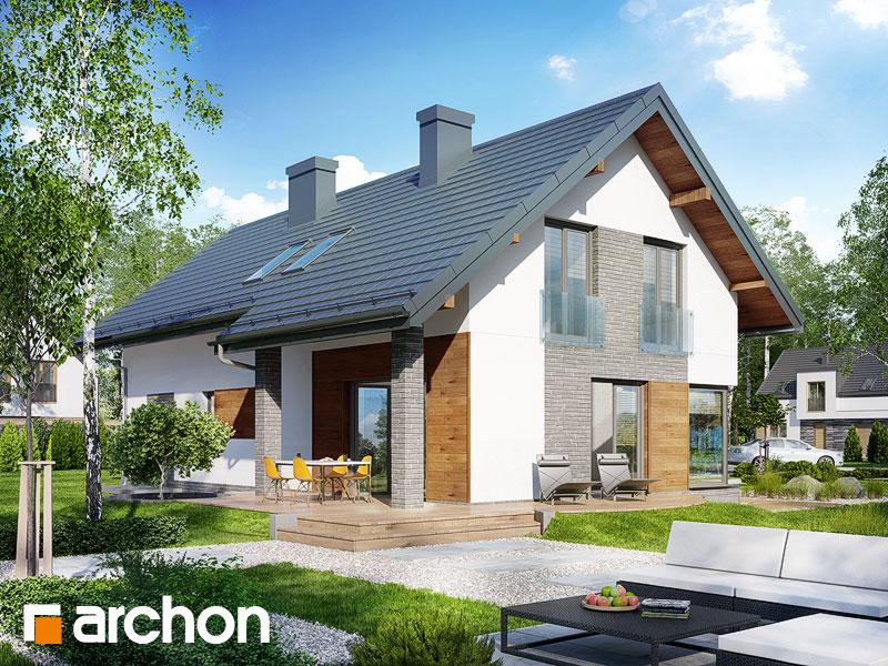 gotowy projekt Dom w wisteriach (G2) widok 1