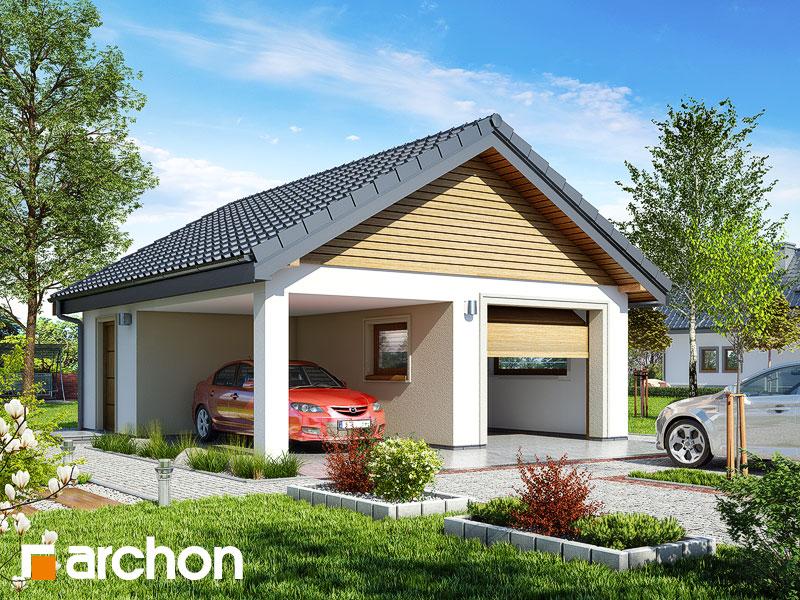 Projekt Garażu Garaż 1 Stanowiskowy G19 Archon