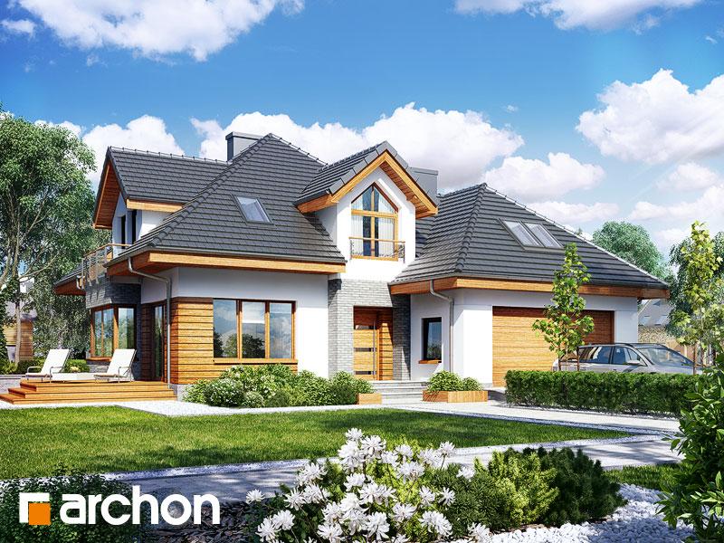 gotowy projekt Dom w rukoli 2 (G2N) widok 1