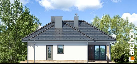 Elewacja boczna projekt dom w gruszach  265