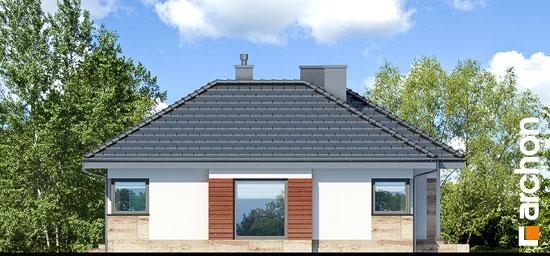 Elewacja boczna projekt dom w gruszach  266