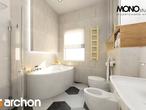 projekt Dom w gruszach Wizualizacja łazienki (wizualizacja 1 widok 4)