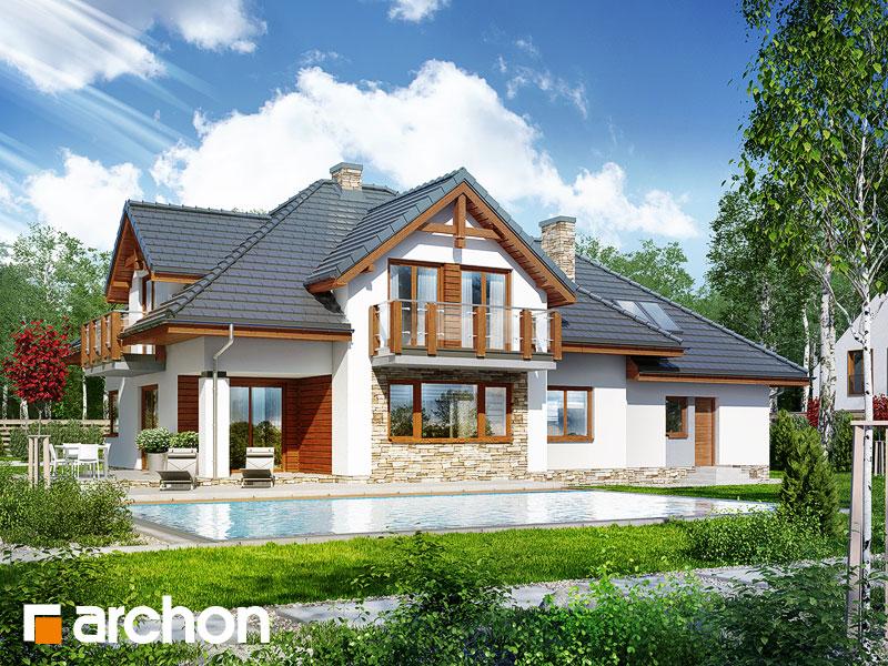 gotowy projekt Dom w kannach widok 1