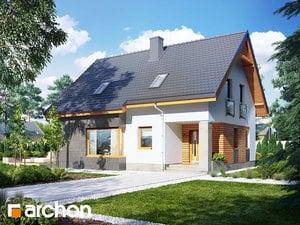 gotowy projekt Dom w mandarynkach (N)