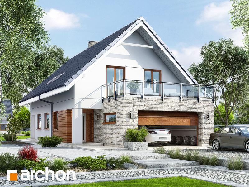 projekt Dom w kokoryczkach (G2) widok 1