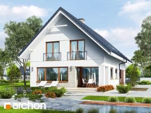 projekt Dom w kokoryczkach (G2) widok 2