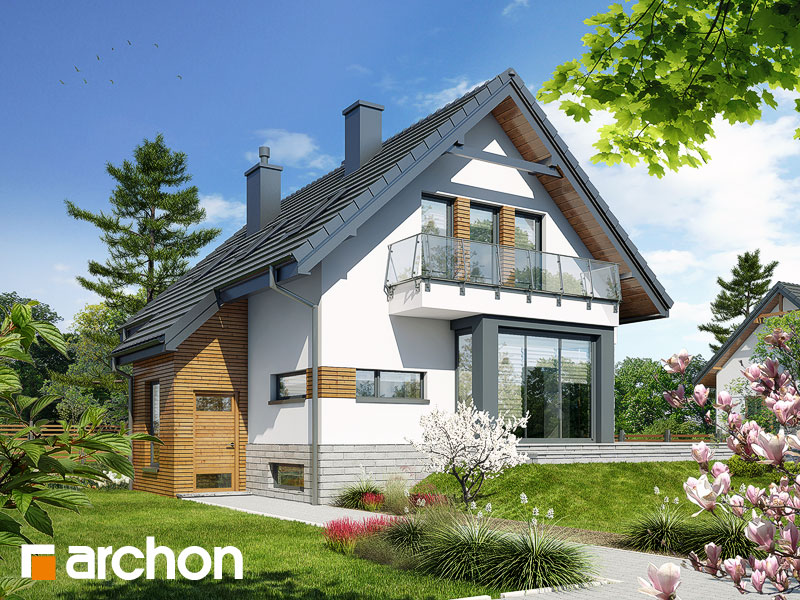 Projekt Domu Dom W Szafranie N Archon