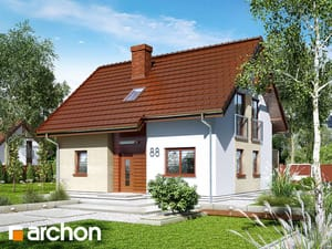 projekt Dom w zielistkach (P)