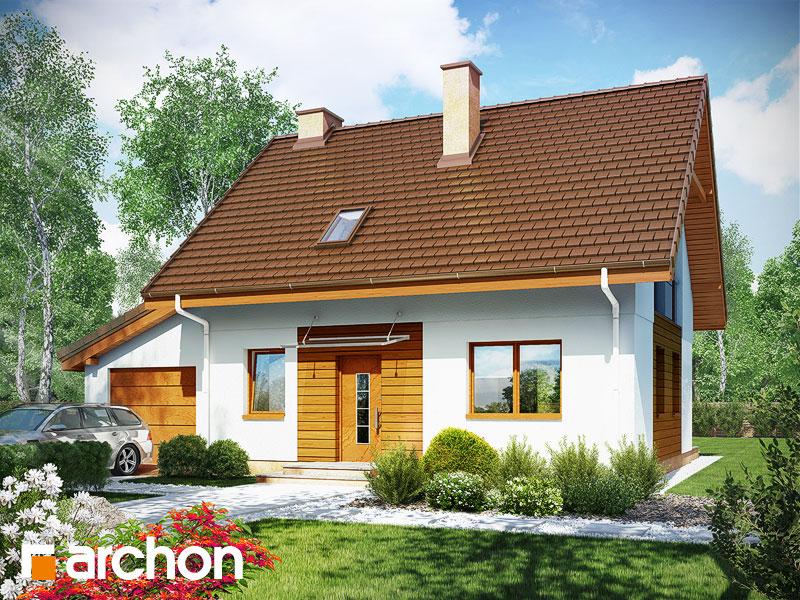 gotowy projekt Dom w zielistkach 2 (G) widok 1