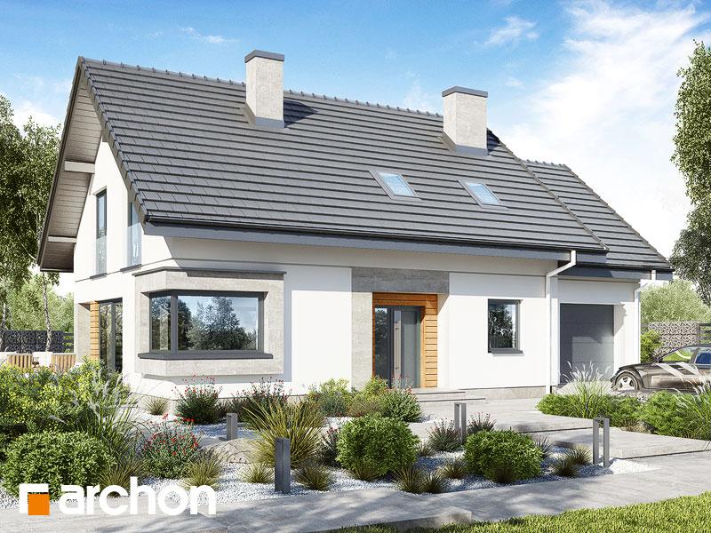 gotowy projekt Dom w szmaragdach (G) widok 1