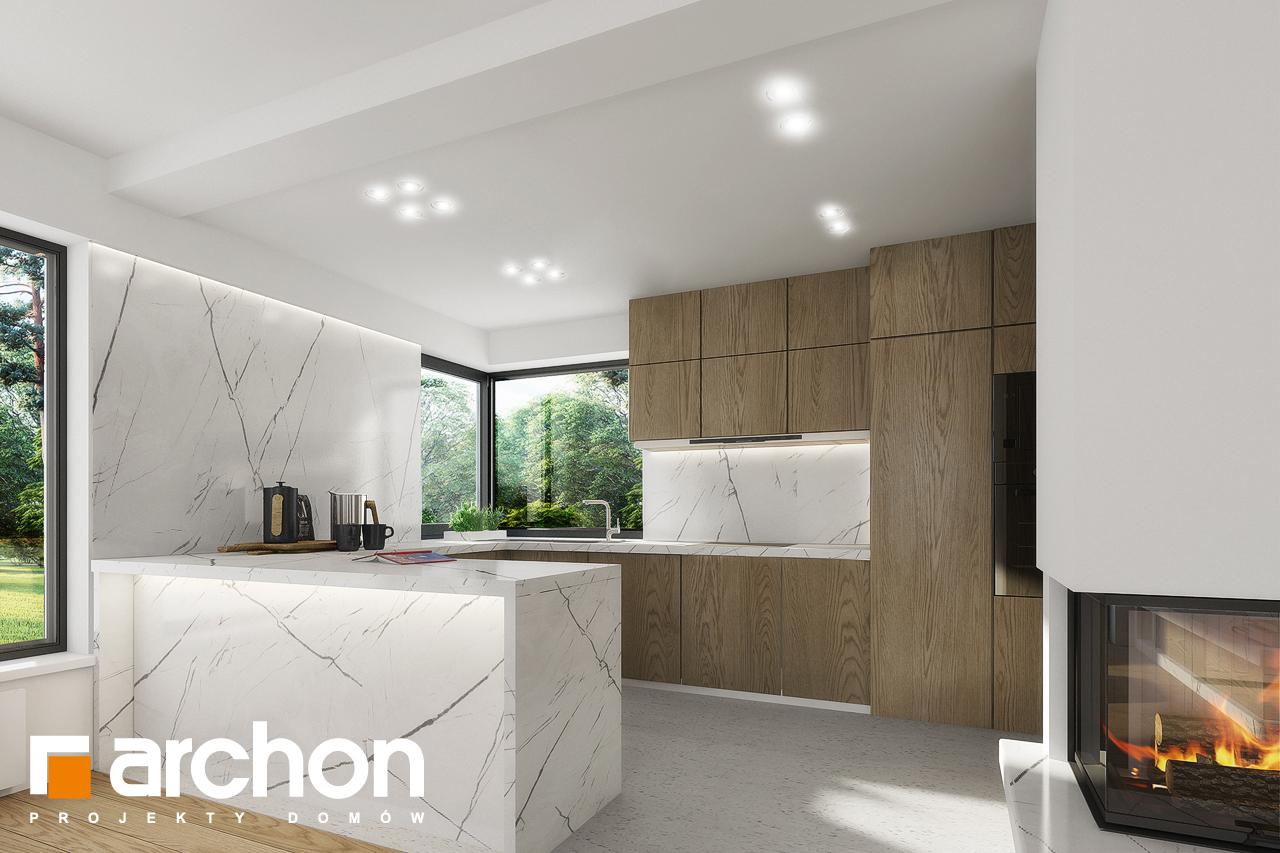 Aranżacje kuchni do projektów domów - ARCHON+