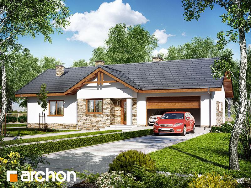 gotowy projekt Dom w nerinach (G2) widok 1