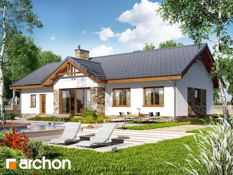 gotowy projekt Dom w nerinach (G2) widok 2