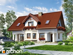 gotowy projekt Dom w majeranku 2 (P)