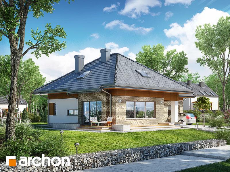 gotowy projekt Dom w lilakach 3 (G) widok 1