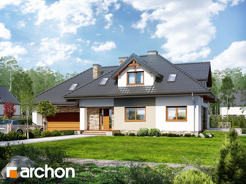 gotowy projekt Dom w kannach 2 (P) widok 1