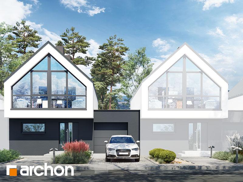 gotowy projekt Dom w muszkatach (S) widok 1