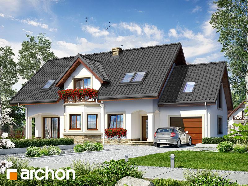 gotowy projekt Dom w majeranku 2 (G) widok 1