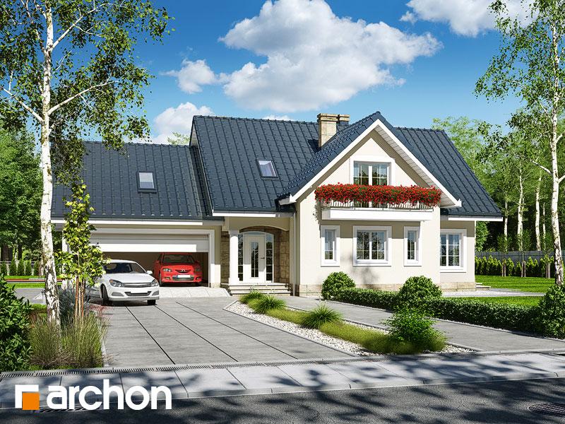 gotowy projekt Dom w lobeliach (G2) widok 1