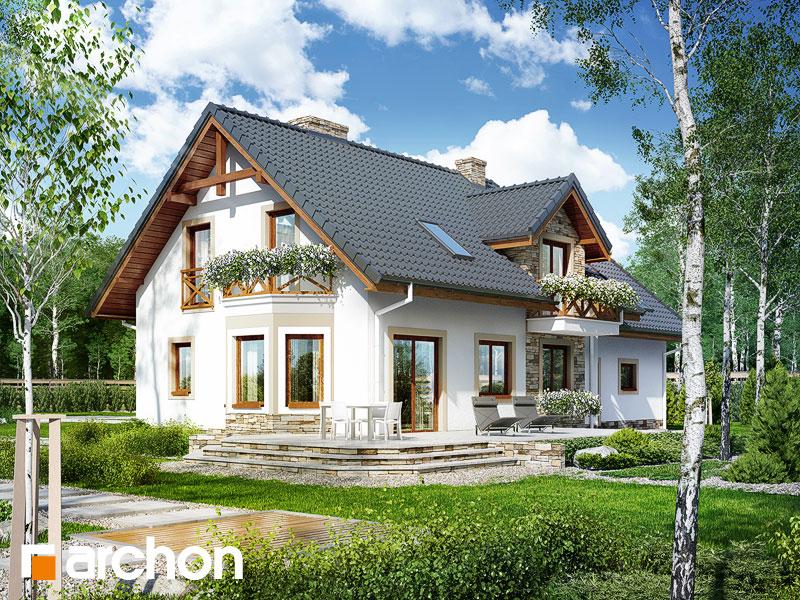 gotowy projekt Dom w sezamie 2 (G2P) widok 1